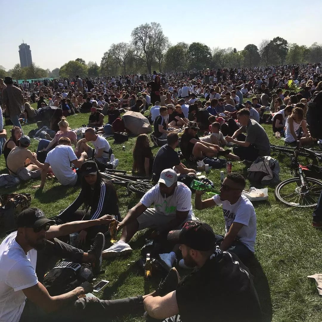 , We attended the biggest 420 Protest the UK has ever seen and smoked weed with over 30000 people