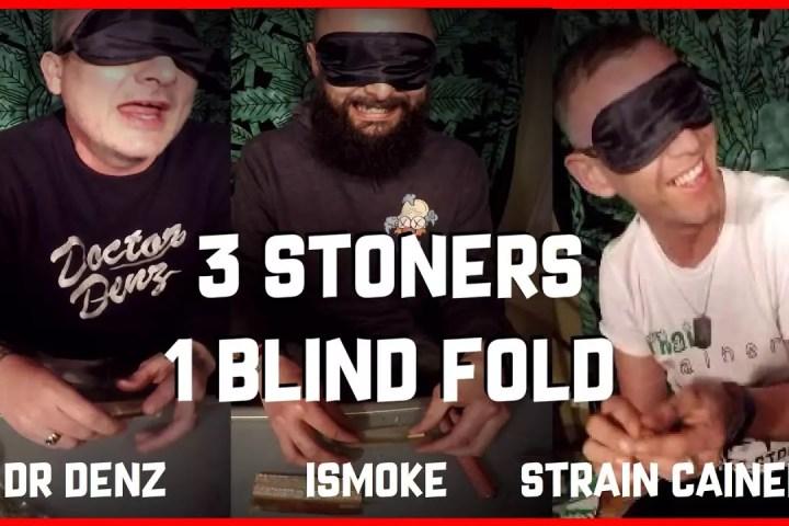 blindfolded rolling challenge