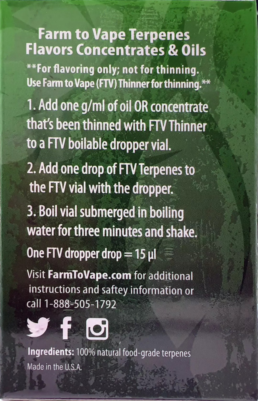 Farm To Vape, Making Cannabis E-Juice with Farm To Vape Liquidizer + Terpenes