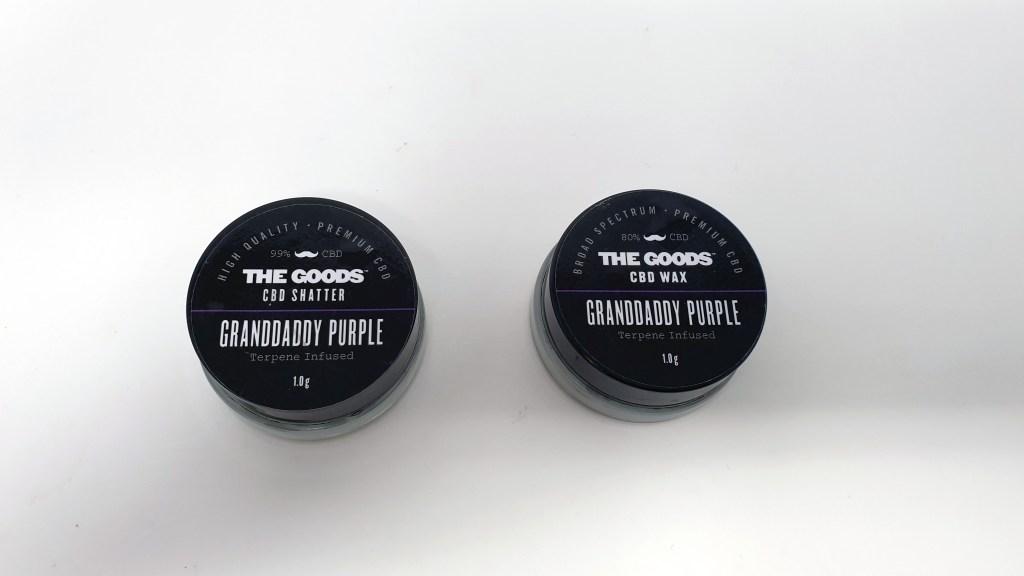 Granddaddy Purple CBD, Granddaddy Purple CBD Extract
