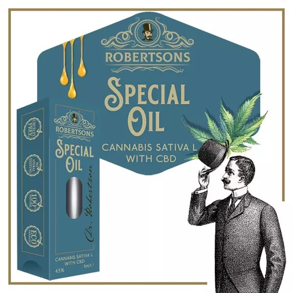 Dr Robertsons Special Oil