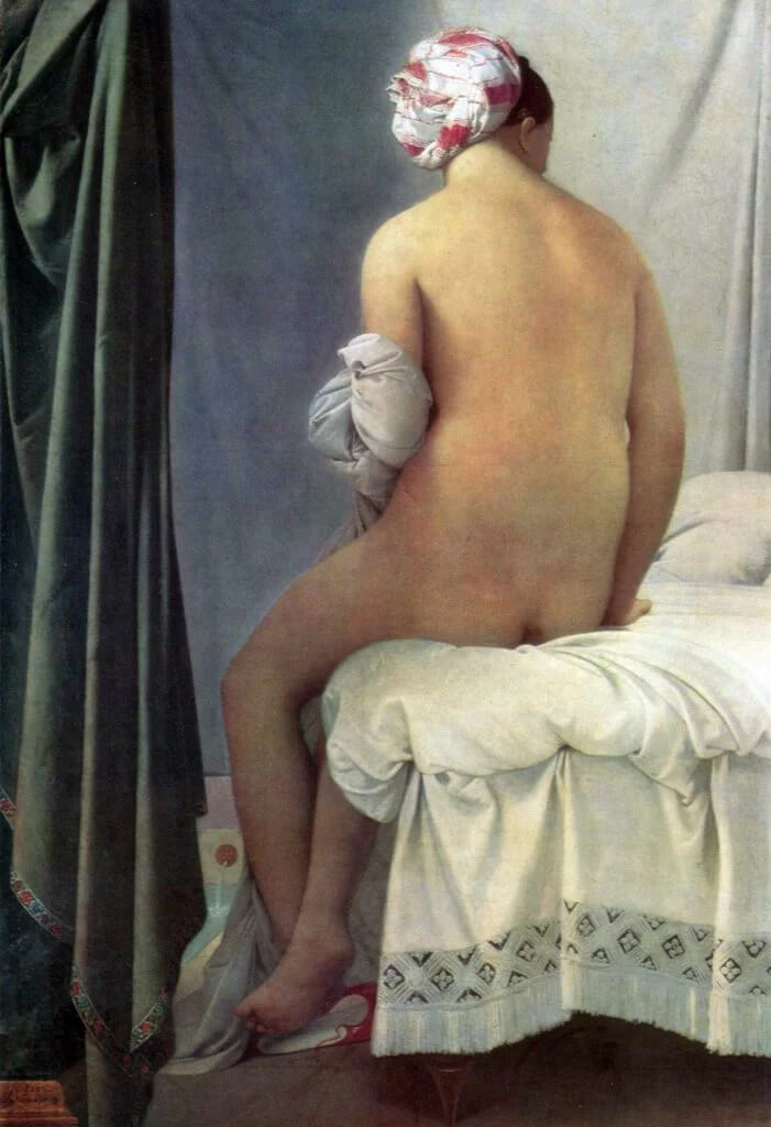 The Valpincon Bather (1808), de Jean Auguste Dominique Ingres.