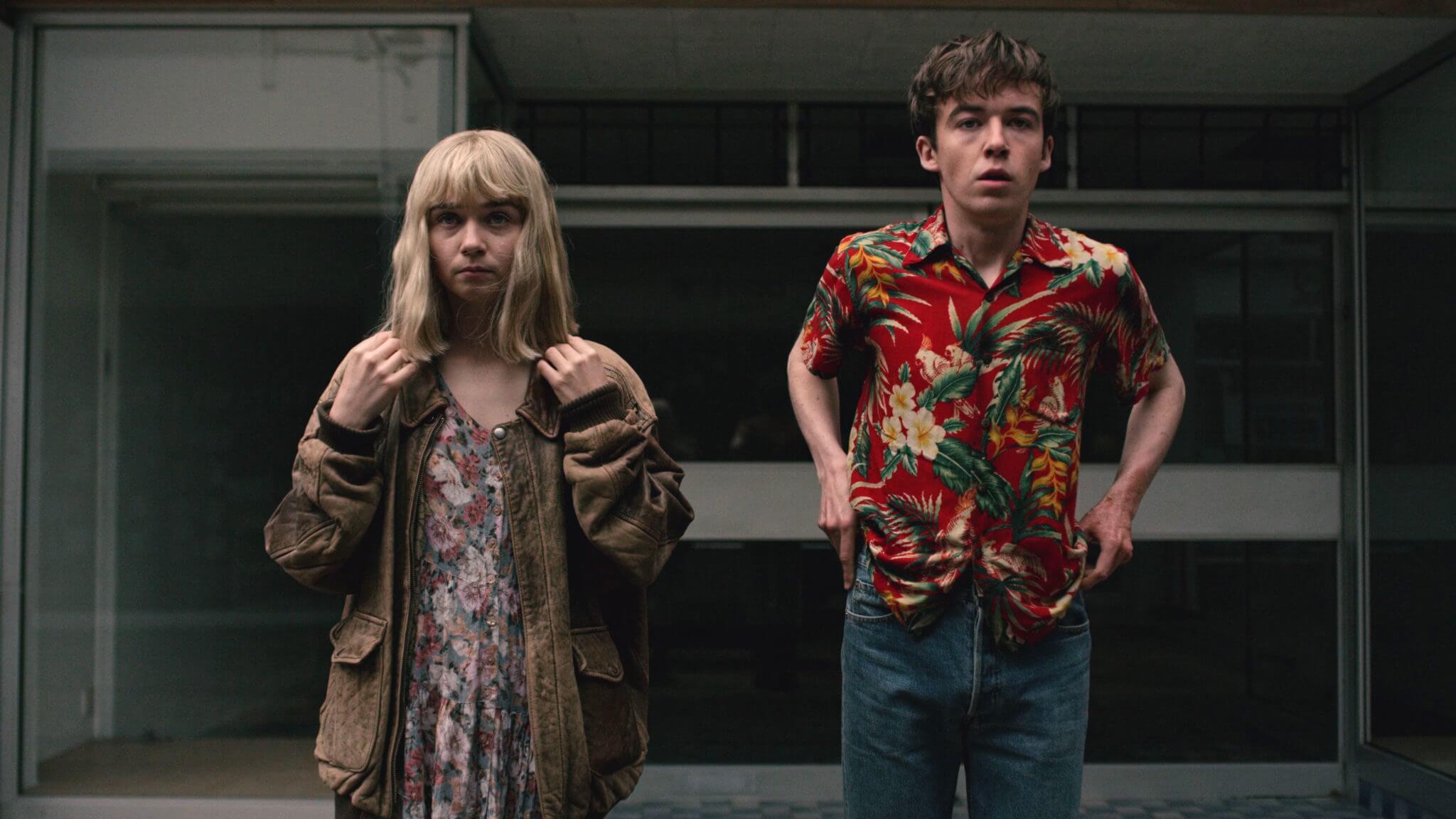"""""""The End of the F***ing World"""": Dos misfits adolescentes que buscan la libertad en un mundo de mierda"""