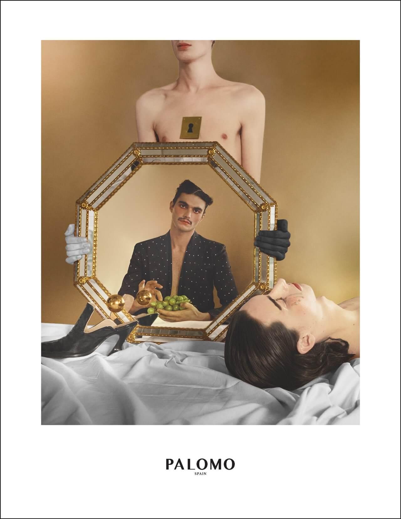 El nuevo lookbook de Palomo Spain es un sueño andrógino y surrealista inspirado en el renacimiento