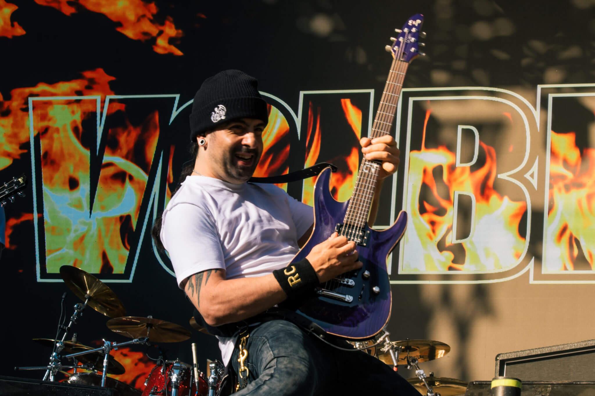 Volbeat @ Lollapalooza Chile 2018. Fotografía: Lukas Cruzat para mor.bo