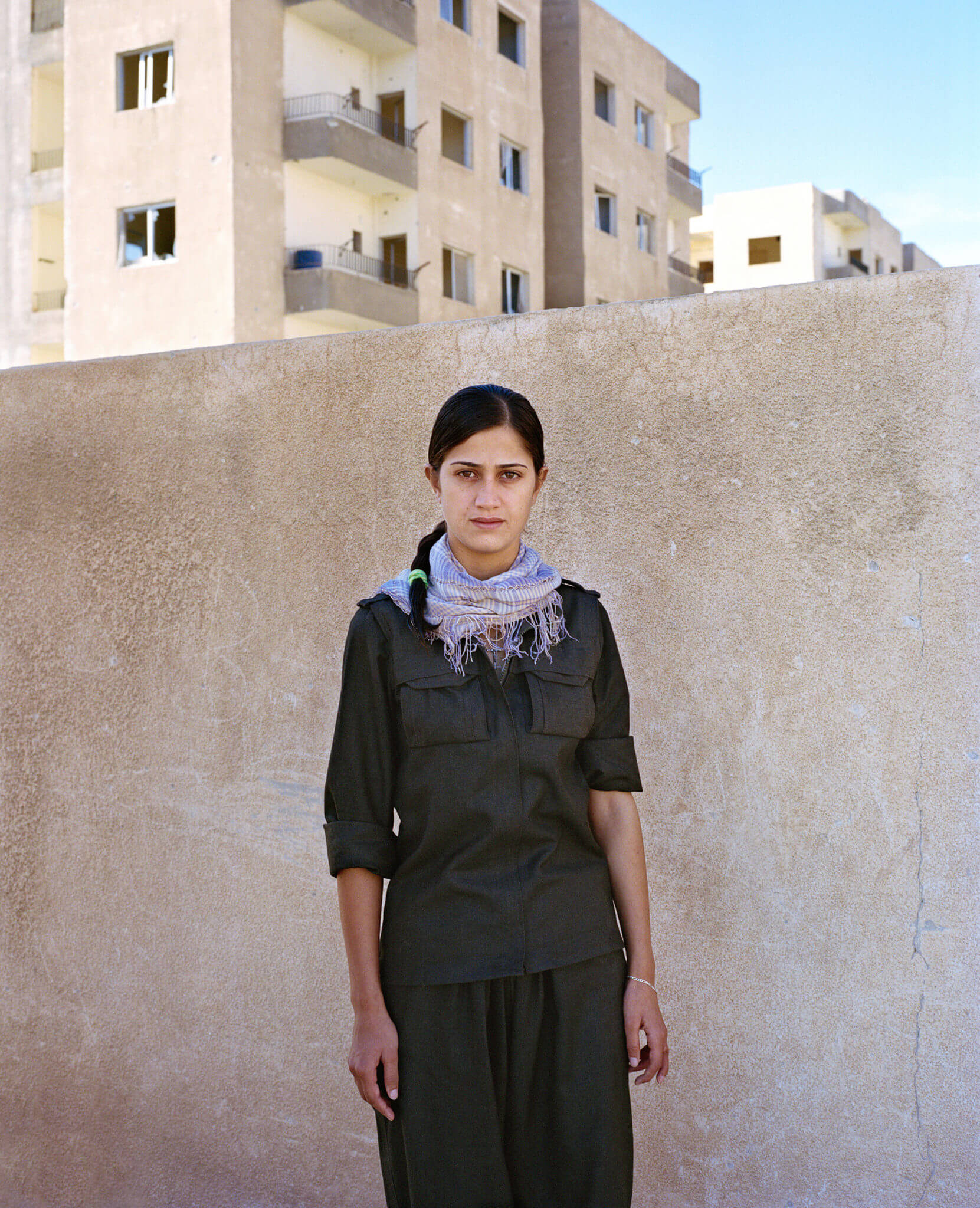 Sonja Hamad: Retratos de las mujeres kurdas sin miedo a la muerte que luchan contra ISIS