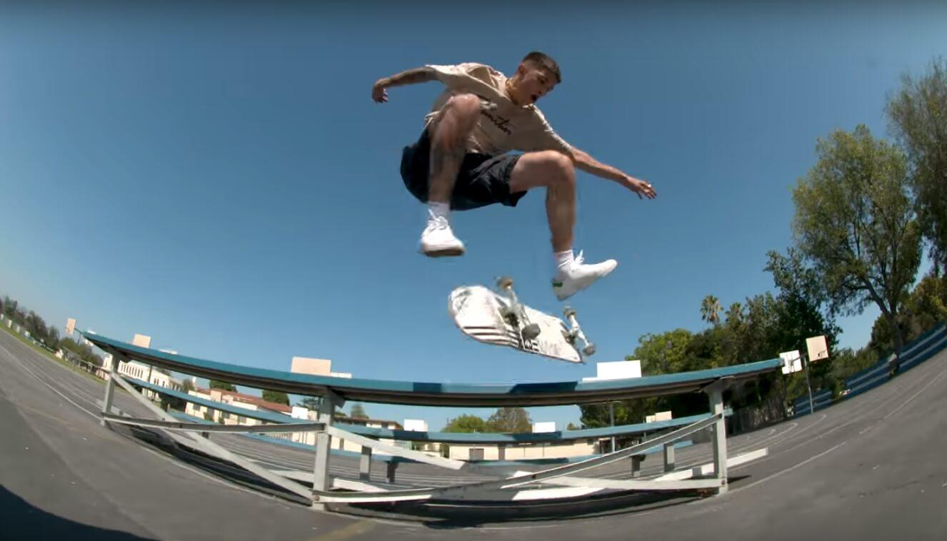Diego Nájera vuela sobre el metal y el asfalto en el nuevo corto de adidas Skateboarding