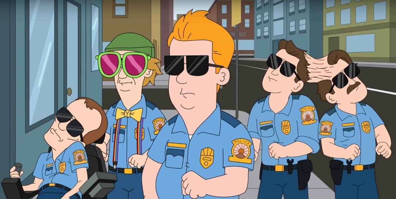 """""""Paradise Police"""", la brutal y retorcida comedia policial animada de Netflix te trae weed y violencia"""