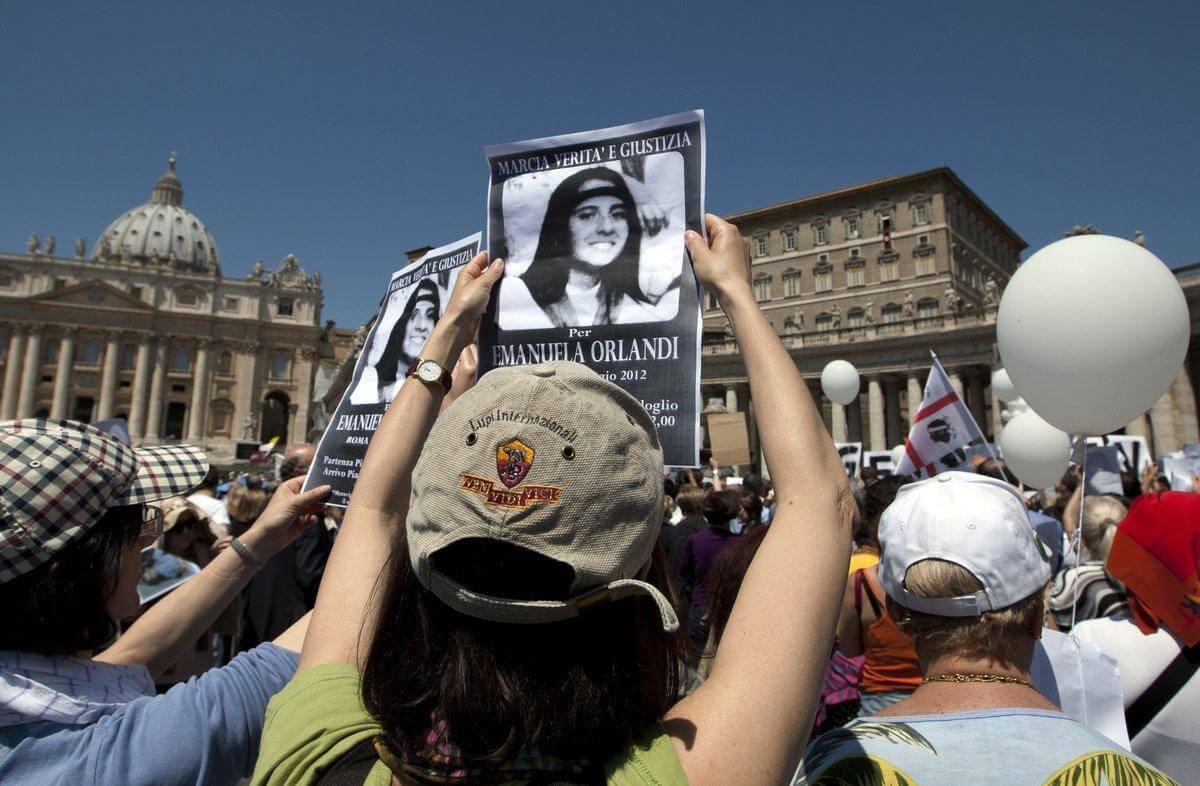 Caso Emanuela Orlandi: Los restos hallados en El Vaticano no pertenecen a la joven desaparecida