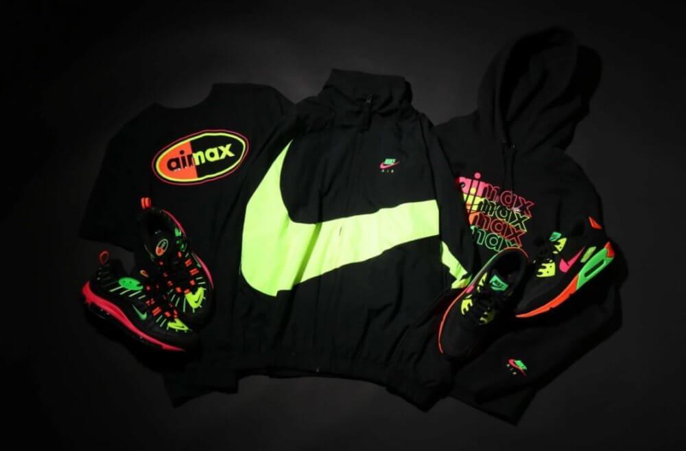 Colección Tokyo Neon. Imagen: Nike