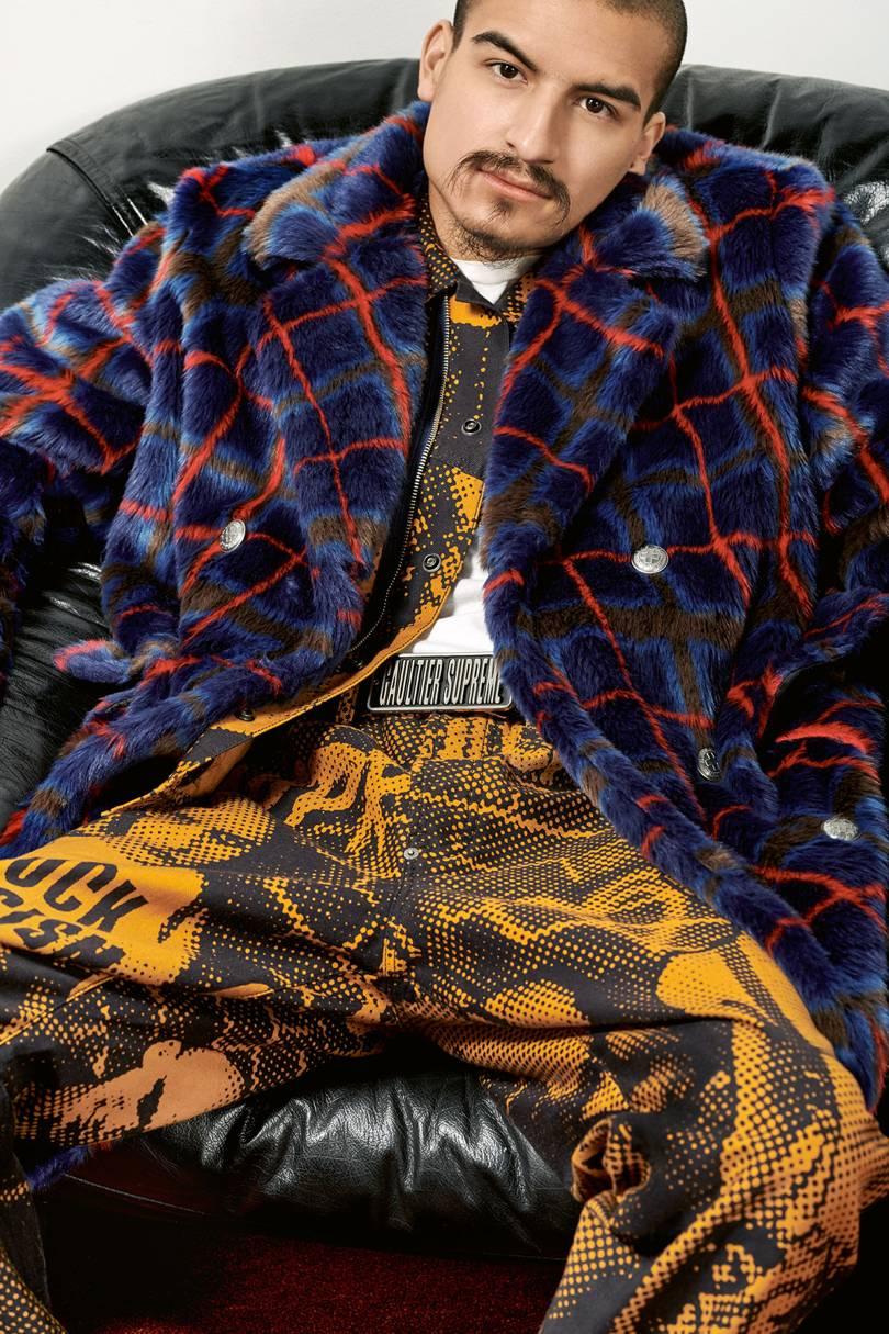 Supreme x Jean Paul Gaultier. Imagen: Collier Schorr