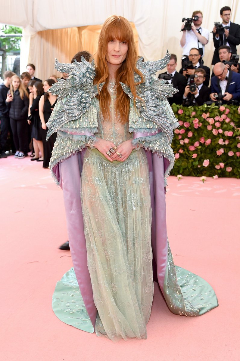 Florence Welch. Fotografía: Getty Images