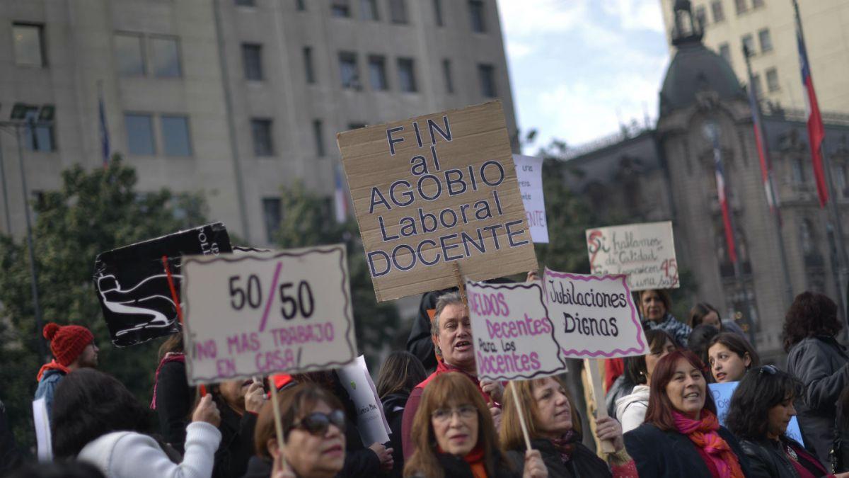 Todo acerca del paro de profesores que mantiene la educación en Chile paralizada