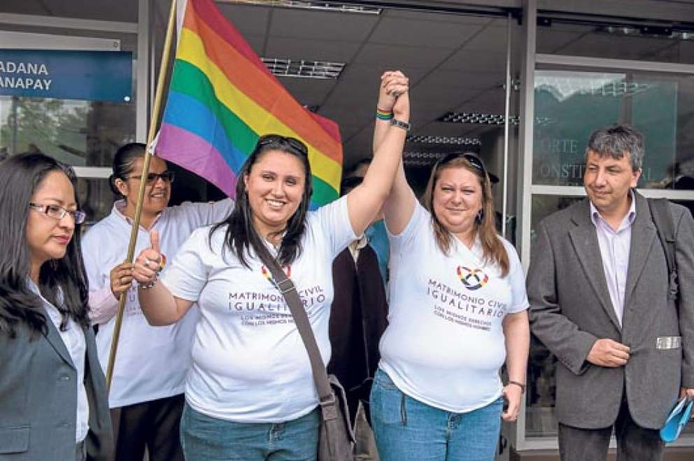 La Corte Constitucional de Ecuador aprueba el matrimonio igualitario