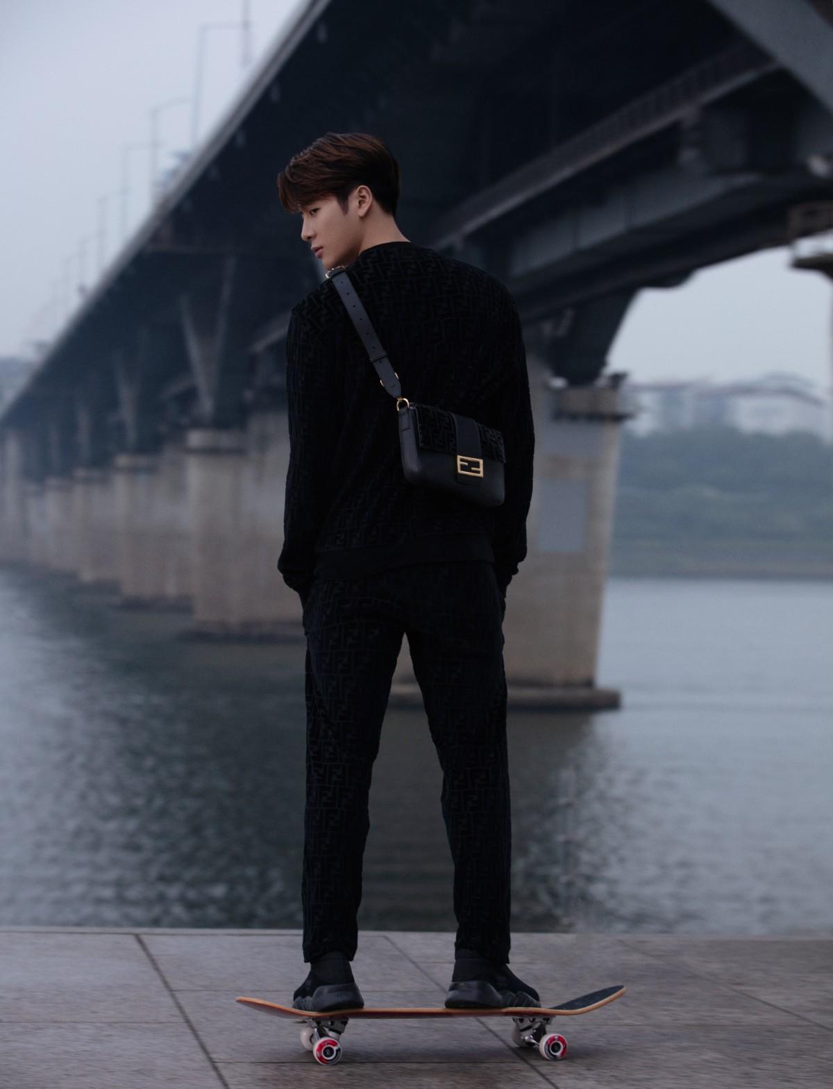 Fendi y Jackson Wang unen K-pop y streetwear deluxe en esta nueva colección