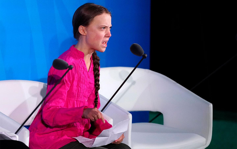 """Greta Thunberg a los líderes mundiales por la crisis climática: """"Me han robado mis sueños y mi infancia con sus palabras vacías"""""""