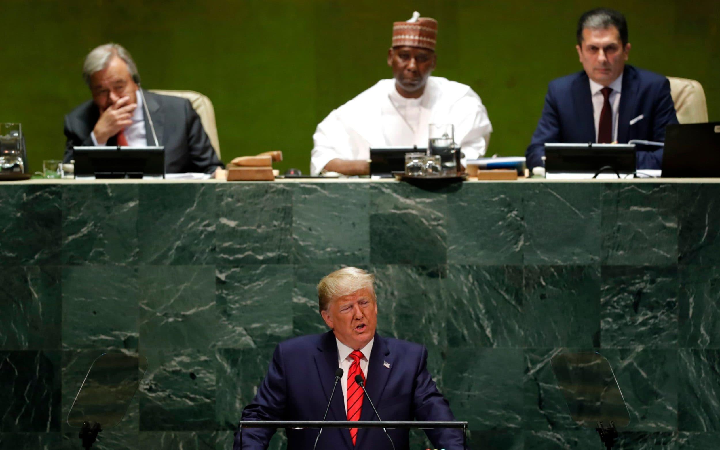 """Asamblea General de la ONU: Trump y Bolsonaro se plantan a favor del """"patriotismo"""" y contra los """"globalistas"""""""