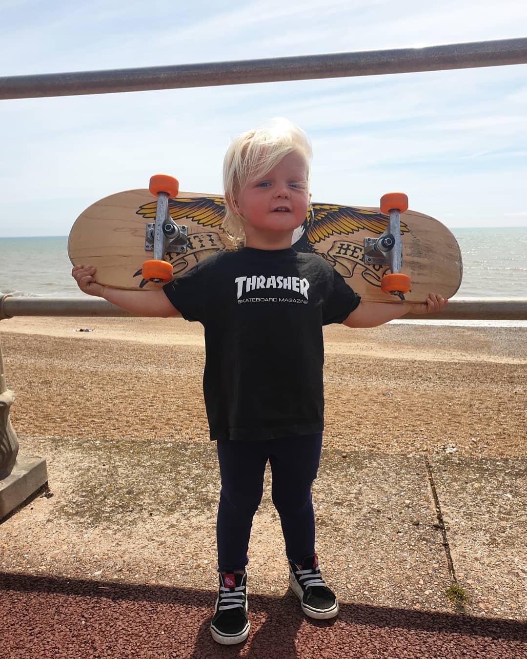 Conoce a Autumn California Bailey, la skater badass de 3 años que se hizo viral en Instagram