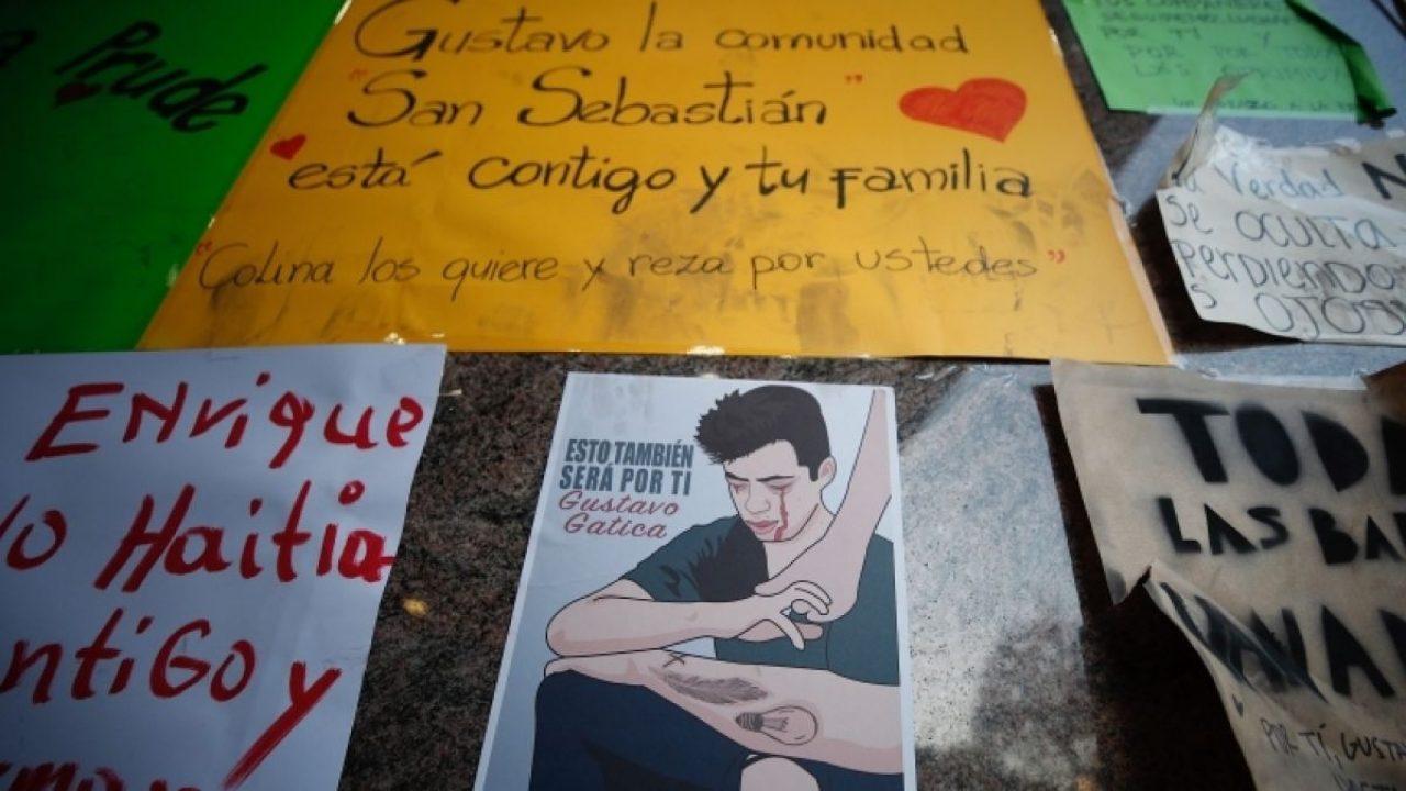 Chile: Identificados los siete Carabineros responsables de dispararle a Gustavo Gatica