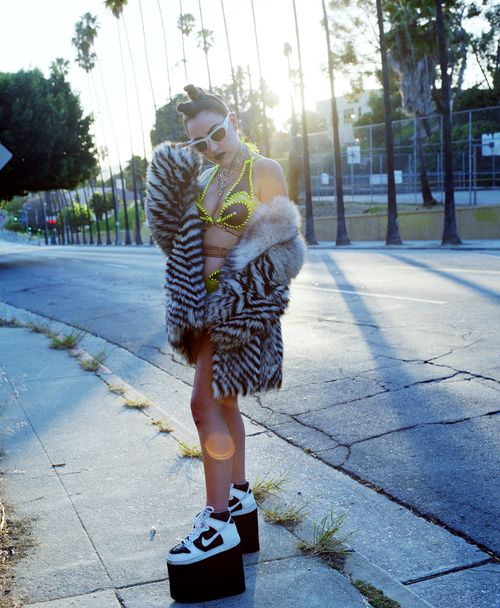 Brooke Candy. Foto: Tumblr