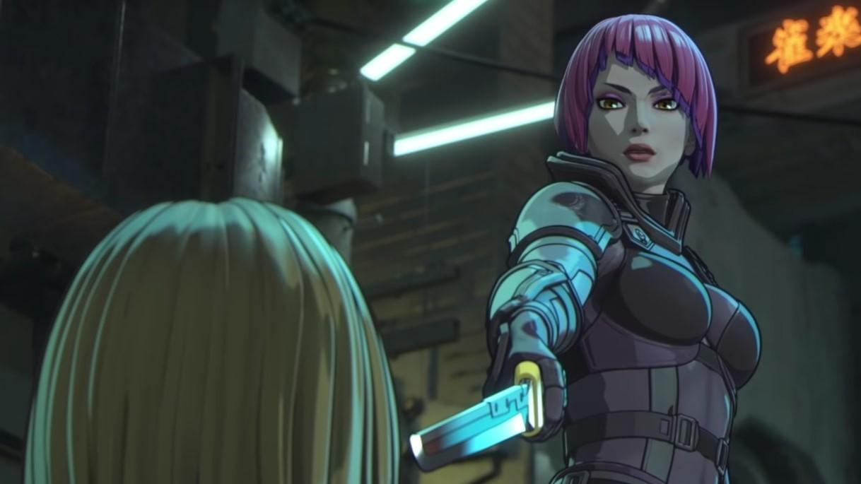 """""""Altered Carbon: Resleeved"""": El spin-off animado de """"Altered Carbon"""" llegará a Netflix con peleas, sci-fi y Yakuzas"""