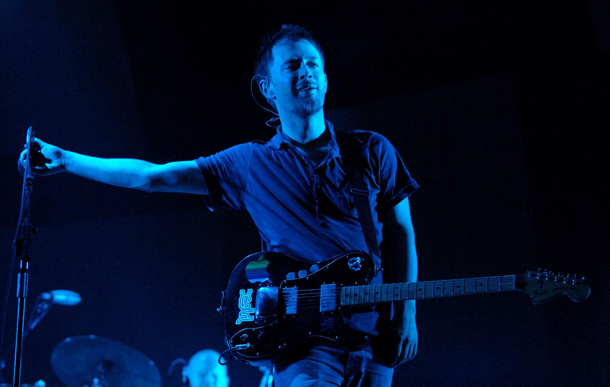 Radiohead publicó en Internet su legendario show del festival Bonnaroo en 2006