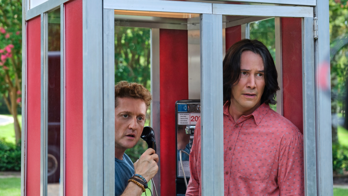 """Bill & Ted Face the Music"": Keanu Reeves y Alex Winter se van al futuro para encontrar la canción que salvará al planeta"