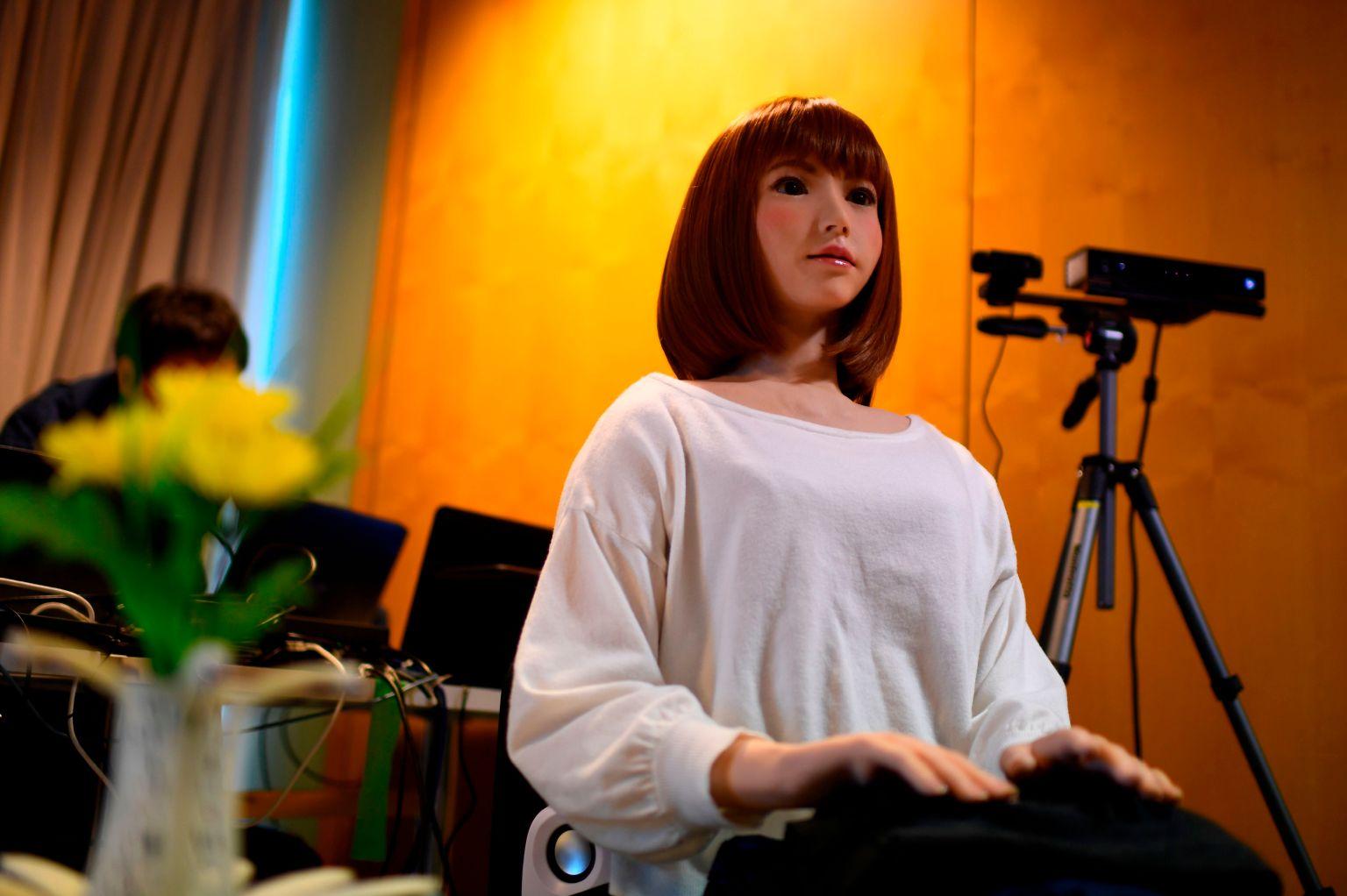 Erica, un robot controlado por Inteligencia Artificial, protagonizará un nuevo filme sci-fi
