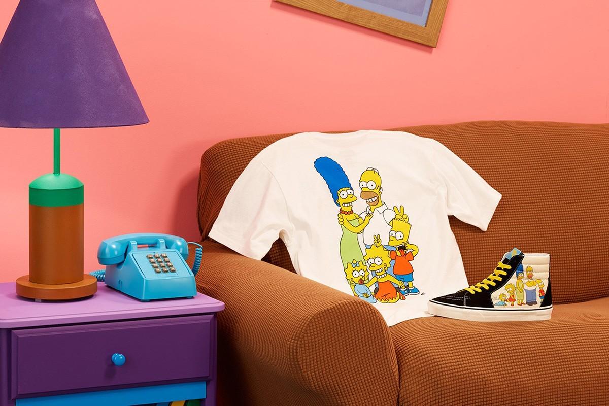 """Vans se va de visita a Springfield para su nueva colección inspirada en """"Los Simpson"""""""