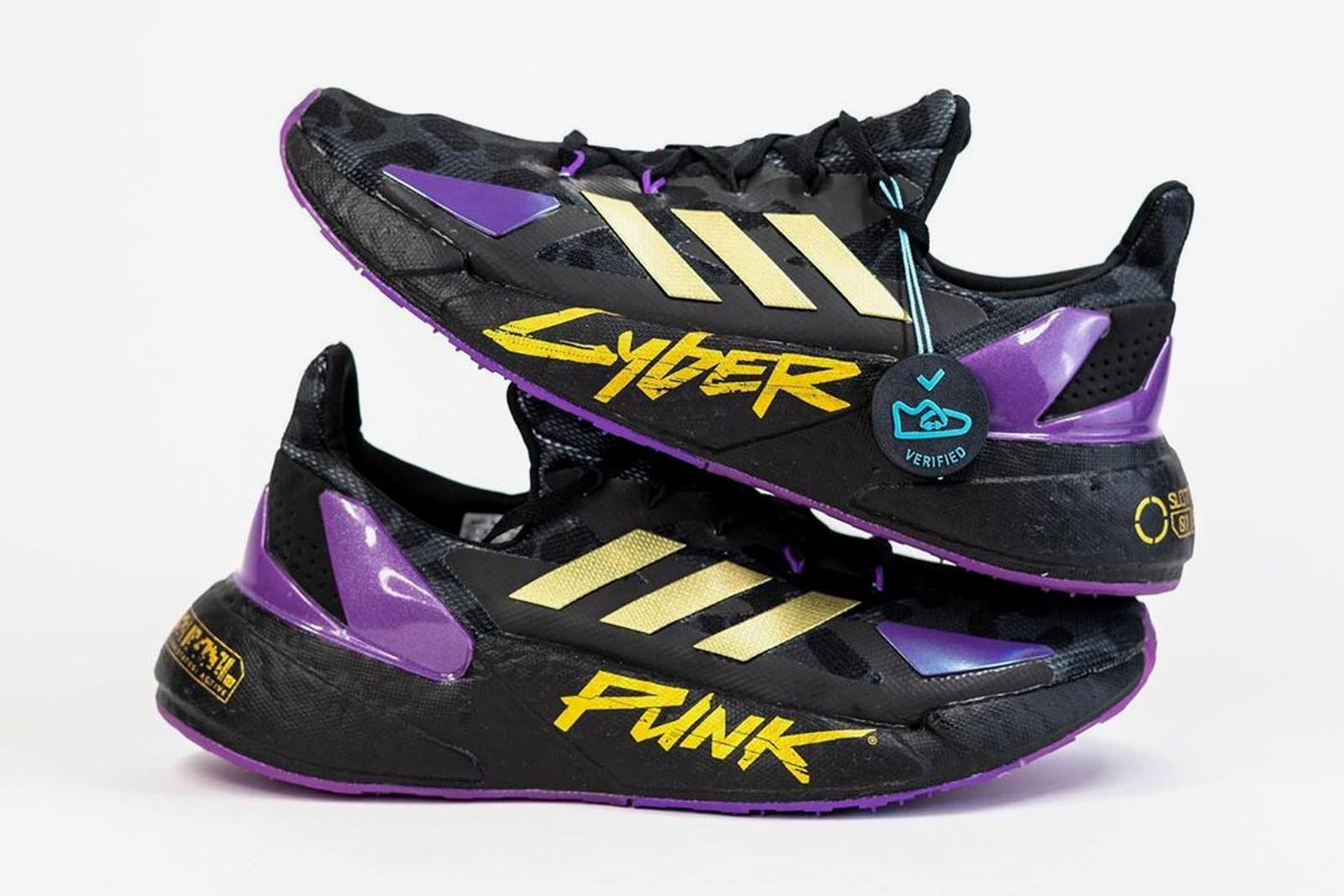 """Adidas y """"Cyberpunk 2077"""" le dan a las X9000L4 una visión hiperfuturista"""