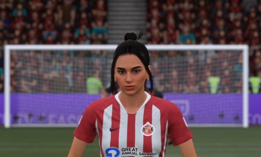 """Ahora podrás jugar como Dua Lipa en la nueva actualización de """"FIFA 21"""""""