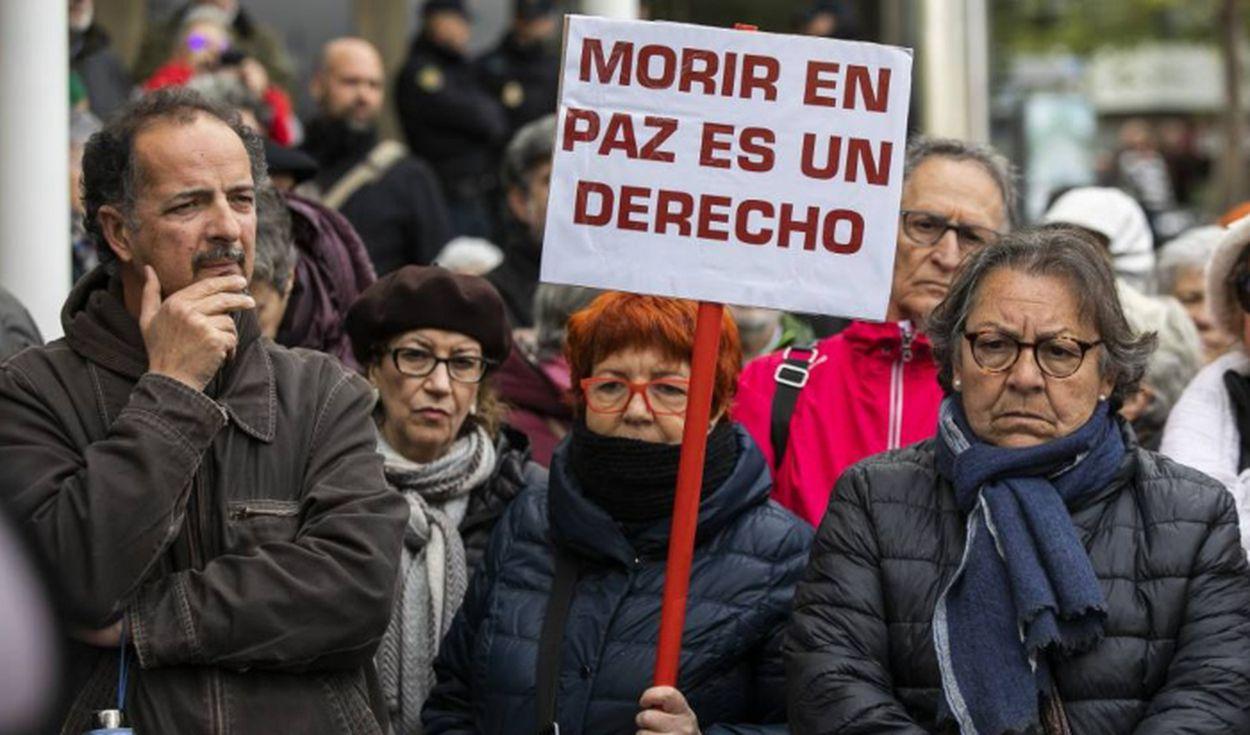 """Aprueban en España proyecto de ley de eutanasia por """"el derecho a una muerte digna"""""""