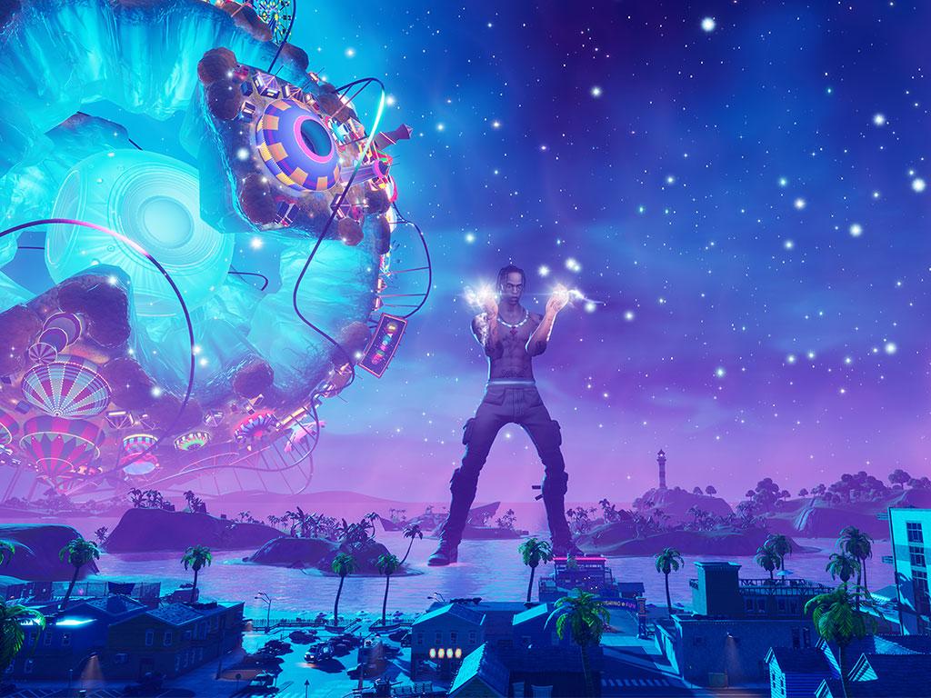 ¿Está Travis Scott trabajando con PlayStation para crear su propio videojuego?