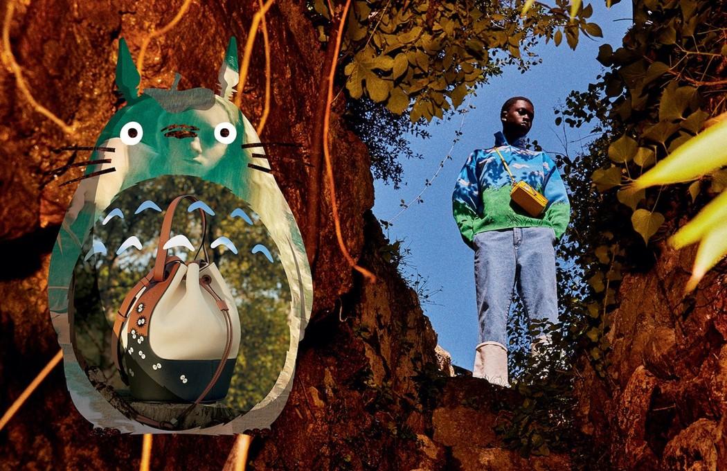 Loewe x Totoro, una nueva colección para los amantes del animé y la moda