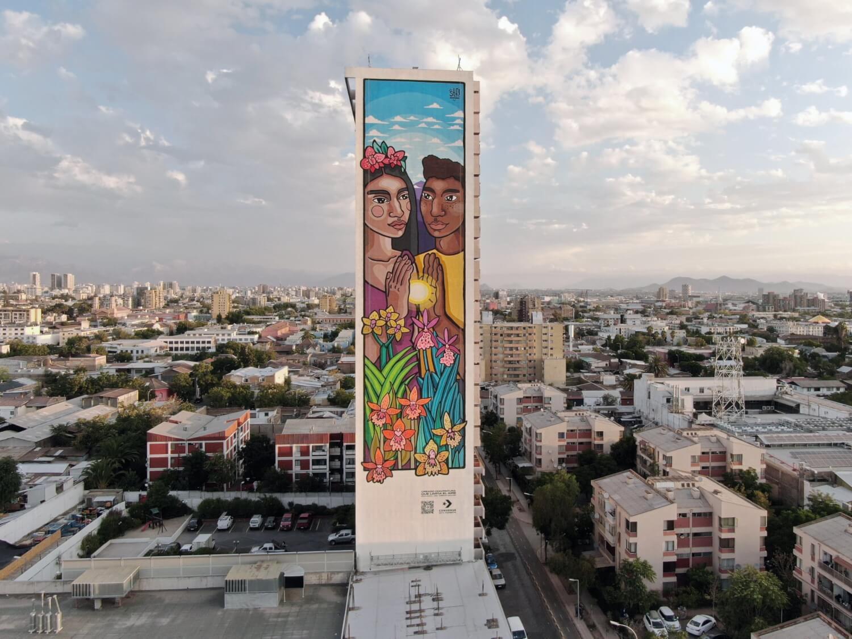 Converse busca desafiar las barreras de género y raciales con un increíble mural sustentable
