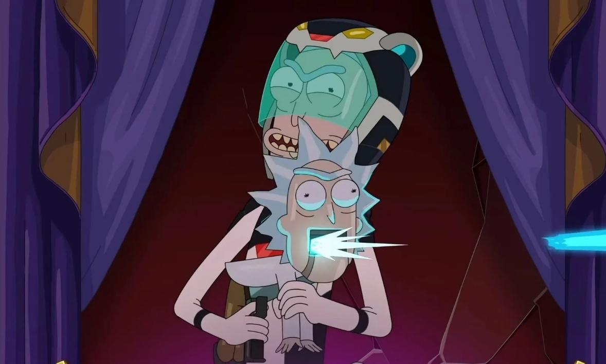 """""""Rick and Morty"""" parodia a """"Hellariser"""" en el nuevo trailer de su quinta temporada"""