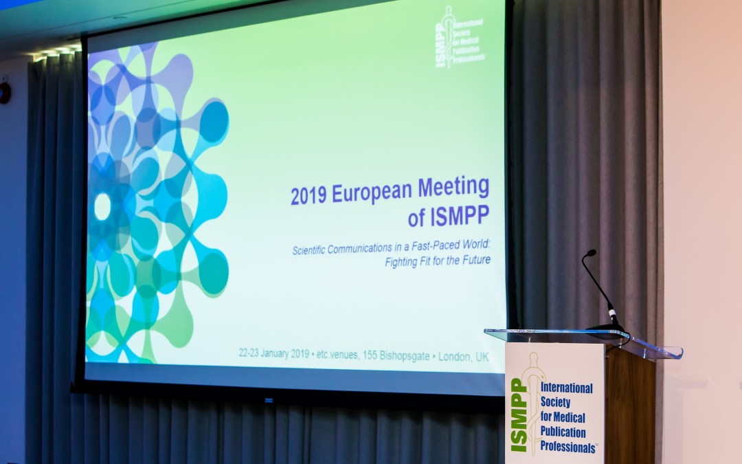 2019 European Meeting of ISMPP: Attendees Now Fit for the Future