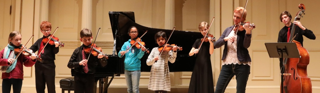 Violin Classes at International School of Music in Bethesda and Potomac