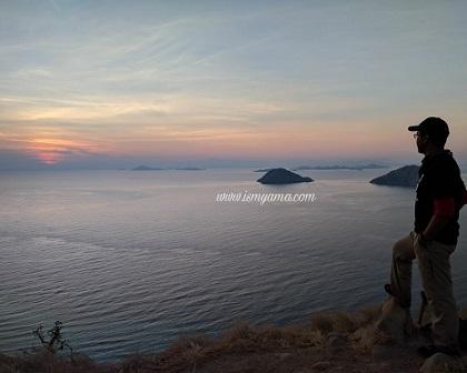 Sunrise di Gili Lawa