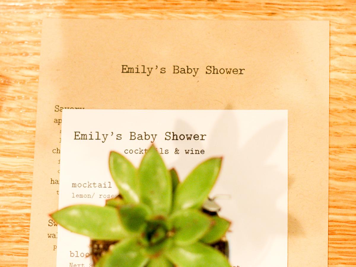 Crafty DIY Baby Shower