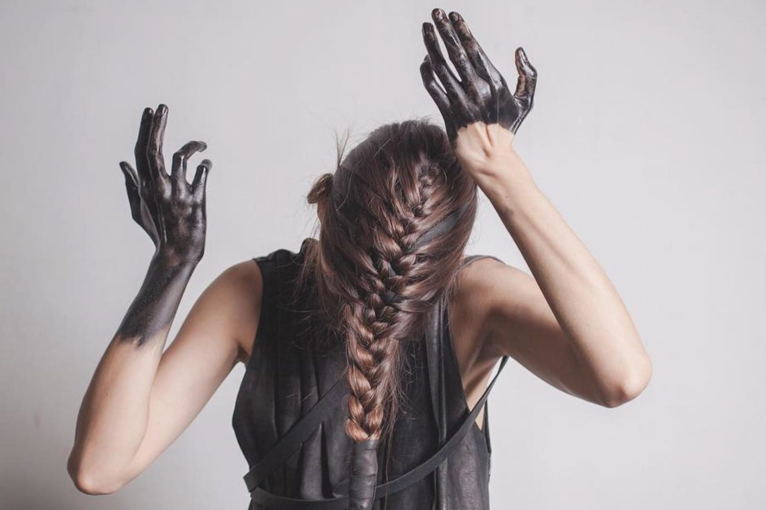 Tousled Hair And Outstretched Hands