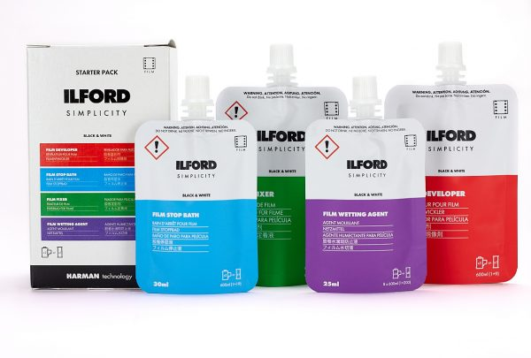 Ilford Photo SIMPLICITY film processing sachets