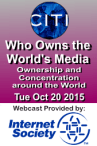 Who owns the World's Media?
