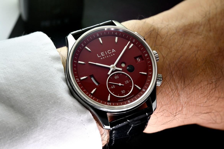 Leica L2 watch wrist shot