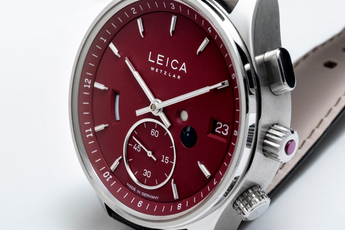 Leica L2 watch with GMT