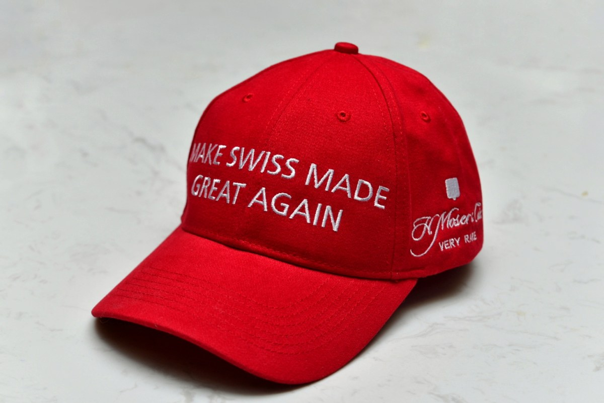 H Moser Make Swiss Made Great Again