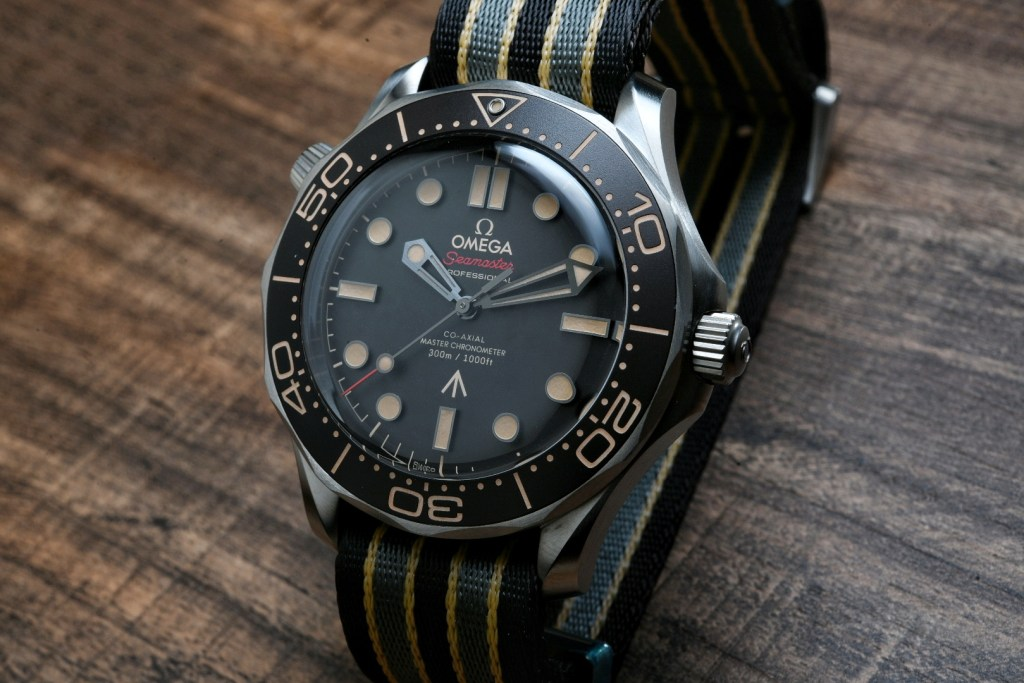 """Omega Seamaster 300M """"No Time To Die"""" Edition"""