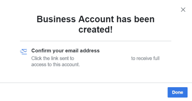 create facebook page without personal account