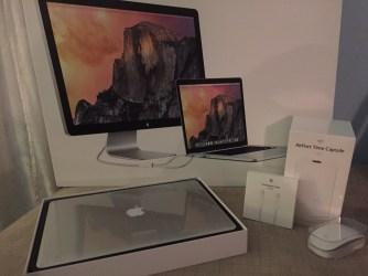 My new shiny Apple toys