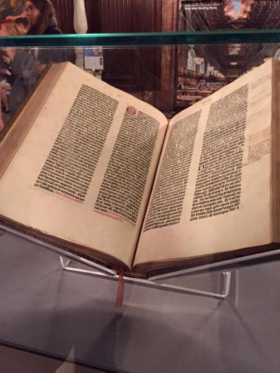 New York Public Library Gutenberg Bible